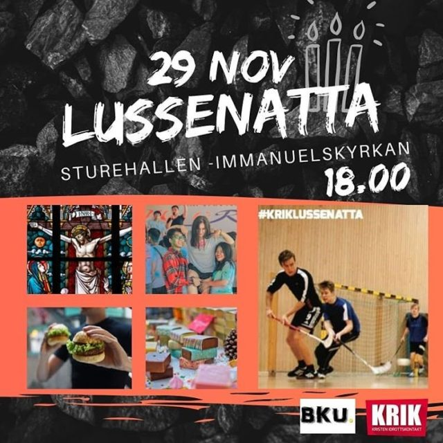 Lussenatta 29 november kl 18:00