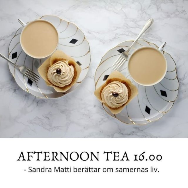 Afternoon Tea lördag 16 november kl 16:00