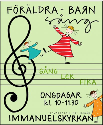 Föräldra Barn Sång